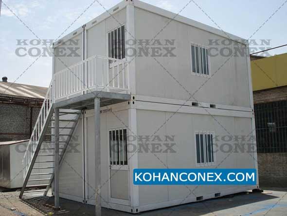 اتاق و خانه پیش ساخته دو طبقه